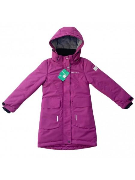 Пальто демисезонное мембранное цвет: Фуксия
