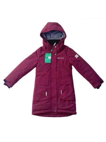 Пальто демисезонное мембранное цвет: Вишня
