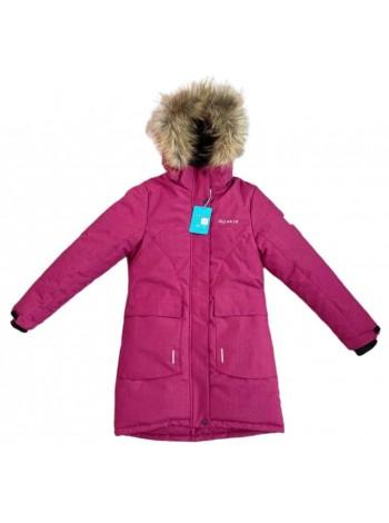 Пальто зимнее мембранное цвет: Малина 2021/22