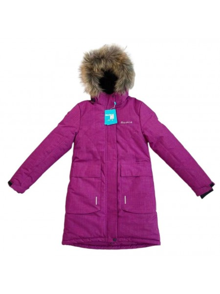 Пальто зимнее мембранное цвет: Фуксия 2021/22