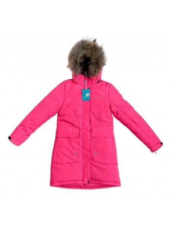Пальто зимнее мембранное цвет: Коралл 2021/22