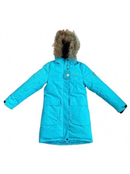Пальто зимнее мембранное цвет: Ментол 2021/22