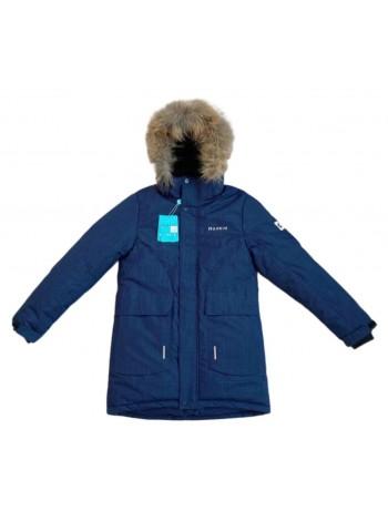 Пальто зимнее мембранное цвет: Тёмно-синий 2021/22