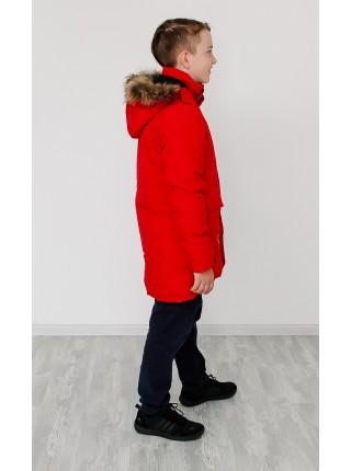 Парка зимняя мембранная цвет: Красный 2021/22