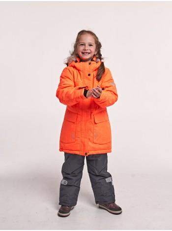 Костюм зимний мембранный цвет: Ярко-оранжевый