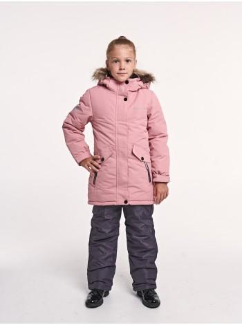 Костюм зимний мембранный цвет:  Кремово-розовый
