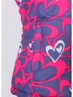 Костюм зимний мембранный цвет: Сердечки серый