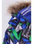 Костюм зимний мембранный цвет: Геометрия синий